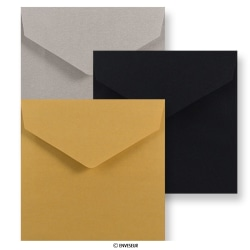 Square V-flap Peel & Seal Envelopes