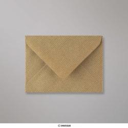 82x113 mm (C7) Brown Ribbed Envelope