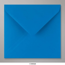 155x155 mm envelope azul electrico