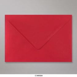162x229 mm (C5) Enveloppe Rouge Écarlate, Rouge Écarlate, Gommée