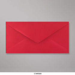 110x220 mm (DL) envelope vermelho vinho