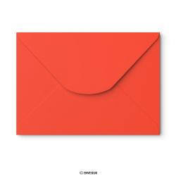 162x229 mm (C5) envelope vermelho papoila