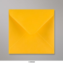 140x140 mm Envelope amarelo oro