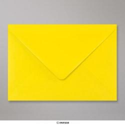 162x229 mm (C5) Gelb Briefumschlag, Gelb, Nassklebend
