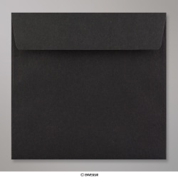 155x155 mm envelope preto