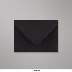 82x113 mm Enveloppe Noire, Noire, Gommée