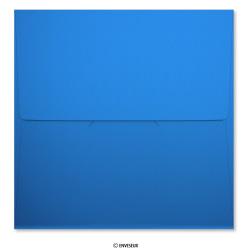 175x175 mm Donkerblauw Parelmoer Aankondiging Envelop