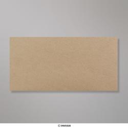 Sobre Reciclado Color Kraft de 110x220 mm, Kraft, Engomado