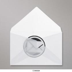 62x98 mm Wit Doorzichtige Envelop