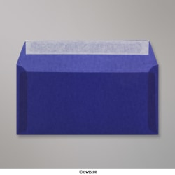 110x220 mm (DL) envelope azul escuro translucido