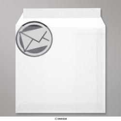220x220 mm envelope branco translucido