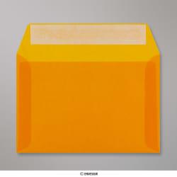 114x162 mm (C6) envelope laranja translucido