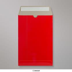 235x162 mm Envelope de Cartão - Vermelho