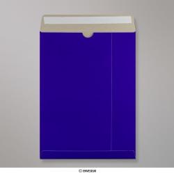 Sobre De Cartón En Azul Real de 324x229 mm (C4), Azul, Autoadhesivo
