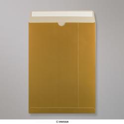 324x229 mm (C4) Busta in cartone oro, Oro, Con strip adesivo