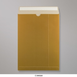 457x330 mm (C3) Enveloppe or tout en carton, Doré, Auto-adhésive avec Bande Détachable