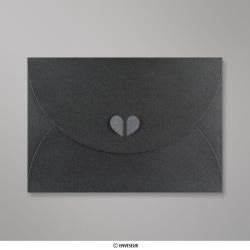 162x229 mm (C5) Anthrazitgrau Schmetterling Briefumschlag, Schiefergrau, Klappe zum Einstecken