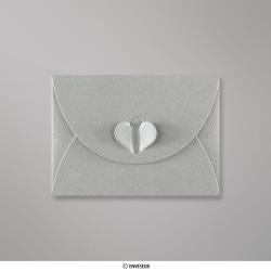 82x113 mm (C7) Zilver Vlinder Envelop