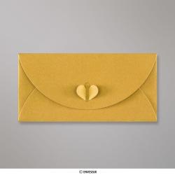 110x220 mm (DL) Goud Vlinder Envelop