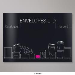 Envelopes LTD – Katalog – Auflage 6, Schwarz, Nassklebend