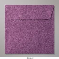 130x130 mm envelope com textura - amaranto