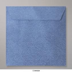 130x130 mm Enveloppe à Grains Bleue Roi, Bleue Roi, Auto-adhésive avec Bande Détachable