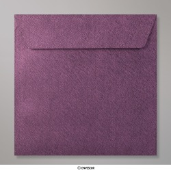 155x155 mm Envelope Com Textura - Amaranto