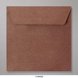 155x155 mm Bronze Ore Textured Envelope