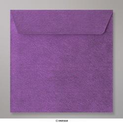 155x155 mm Enveloppe à Grains Violette, Violet, Auto-adhésive avec Bande Détachable