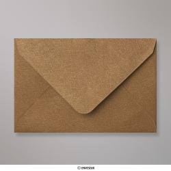 62x94 mm envelope com textura - bronze