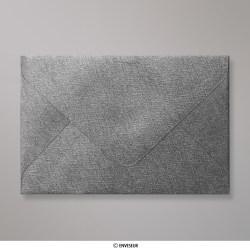 62x94 mm envelope com textura - cinzento médio