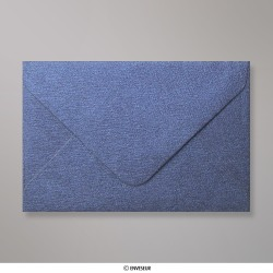 62x94 mm envelope com textura - azul real