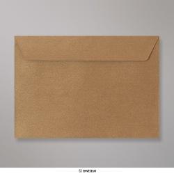 162x229 mm (C5) envelope com textura - bronze