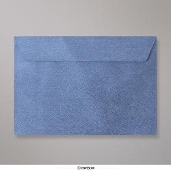 162x229 mm (C5) envelope com textura - azul real