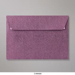 114x162 mm (C6) Envelope Com Textura -  Amaranto