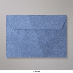 114x162 mm (C6) envelope com textura - azul real