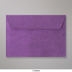 Sobre Con Textura Violeta Brillante de 114x162 mm (C6), Violeta, Autoadhesivo