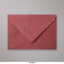 82x113 mm (C7) envelope com textura - vinho tinto