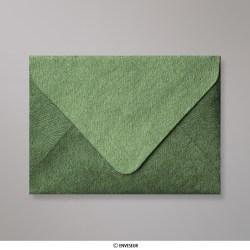 82x113 mm (C7) envelope com textura - verde floresta