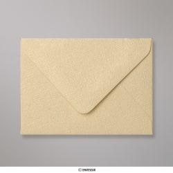82x113 mm (C7) envelope com textura - platina