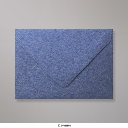 82x113 mm (C7) envelope com textura - azul real