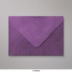 82x113 mm (C7) envelope com textura - violeta