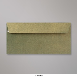 110x220 mm (DL) envelope com textura - champanhe