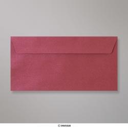 110x220 mm (DL) Enveloppe à Grains Bordeaux, Bordeaux, Auto-adhésive avec Bande Détachable