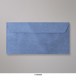 110x220 mm (DL) Royalblau Strukturierte Briefumschlag
