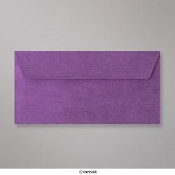 110x220 mm (DL) envelope com textura - violeta