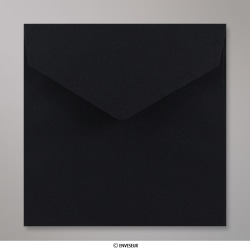 155x155 mm Black V-flap Peel & Seal Envelope