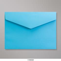 162x229 mm (C5) Blau Briefumschlag mit Spitzer Klappe, Haftklebend, Blau, Haftklebend