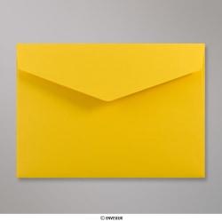 162x229 mm (C5) envelope com aba em pico - Amarelo escuro