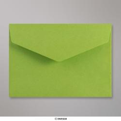 114x162 mm (C6) envelope com aba em pico - verde